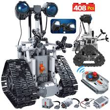 Super Deal #62d827 - <b>ERBO 408PCS City</b> Creative RC Robot ...