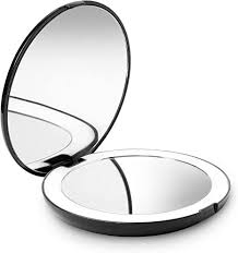Fancii <b>LED Lighted</b> Travel <b>Makeup</b> Mirror, 1x/10x Magnification ...
