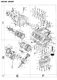 exploded views parts list 4into1 com vintage honda motorcycle advertisements