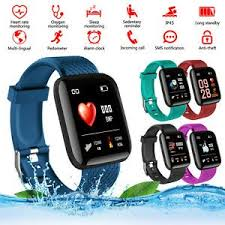<b>116 Plus</b> Smart Watch Fitness Tracker Smart Bracelet Bluetooth ...