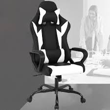 Racing <b>Office</b> Chair, High-Back PU <b>Leather Gaming</b> Chair Reclining ...
