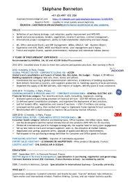 buyer manager resume stephane bonneton cv experienced procurement specialist stephane bonneton cv experienced procurement specialist