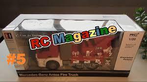 <b>Радиоуправляемая пожарная машина</b> Mercedes-Benz Antos Fire ...