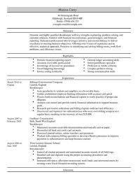 bookkeeper cv example for accounting finance livecareer sample resume for bookkeeper