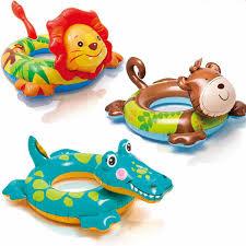 Christmas Summer <b>Kids Child Cartoon</b> swim ring lion <b>Monkey</b> ...