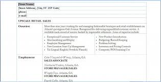 Resume Objectives Retail  easyjob netretail resume how to write     JFC CZ as