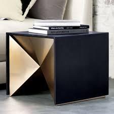 nova side table cb2 cb2 bedroom furniture