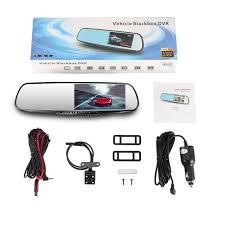 2019 Original <b>Car DVR</b> With Rearview Mirror Camera <b>Dash Cam 4.3</b> ...