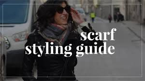 8 Easy and Stylish Ways to Tie <b>Scarves</b> So You Actually Wear Them ...