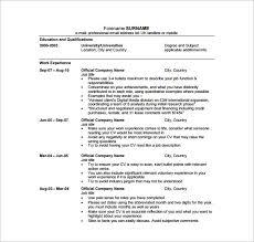 digital resume template –   free word  excel  pdf format download    digital media resume pdf free download