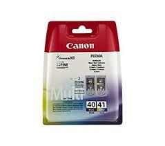 Canon <b>PG40</b>-<b>CL41 Ink</b> Cartridges - Black/Colour: Amazon.co.uk ...
