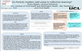 poster presentations paediatric educators special interest group do parent markers add value to reflective learning