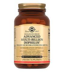 Пребиотики <b>Solgar Advanced Multi</b>-<b>Billion</b> Dophilus <b>Solgar</b> 60 капс ...