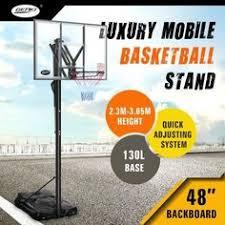 New 2.3-3.05m Portable <b>Basketball Hoop</b> Stand Backboard Net ...