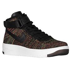 nike air force 1 ultra flyknit mid mens basketball shoes blackbright crimsoncourt purplevolt air force 1 flyknit