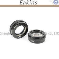 0.35X <b>0.5X</b> 2X 1X <b>Barlow Lens</b> 42mm Mounting Thread Microscopio ...