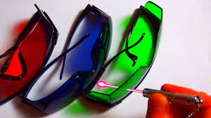 Test of <b>Laser Protection Glasses</b> (<b>Goggles</b>) - YouTube