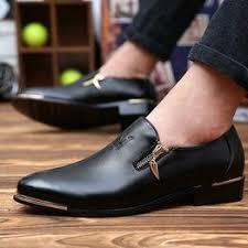 Men's Fashion Leather Pointed Business Shoes Men's Dress ... - Vova