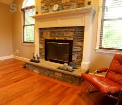 Applying veneer stone to fireplace surround - DoItYourself.com ...