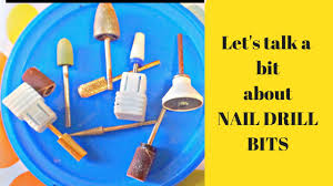 <b>Nail Drill</b> Bits Explained for Beginners - YouTube