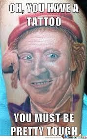 20 Extremely Permanent Meme Tattoos | SMOSH via Relatably.com