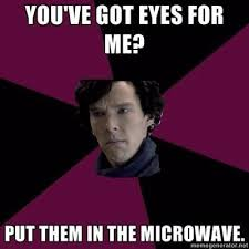 funny sherlock meme | Tumblr via Relatably.com