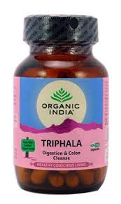 <b>Трифала</b> (Triphala) Organic India, <b>60 капсул</b> Organic India купить ...