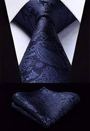 HISDERN Wedding Ties for <b>Men</b> Cravat <b>Jacquard Luxury</b> Floral ...