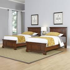 Bedroom For Two Twin Beds Home Styles 5529 4024 Chesapeake Two Twin Beds And Night Stand In