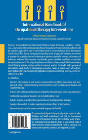 international handbook of occupational therapy interventions international handbook of occupational therapy interventions amazon co uk ingrid söderback 9780387754239 books