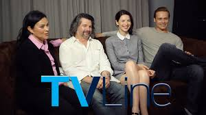 outlander interview at comic con tvline outlander interview at comic con 2015 tvline