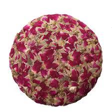 China Natural <b>organic</b> green Rose Flowers <b>compressed tea</b> cake ...