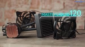 Обзор <b>водяного охлаждения Cooler</b> Master MasterLiquid 120 в 4k ...