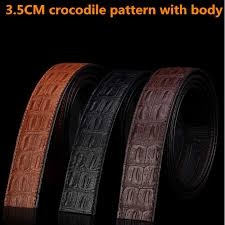 LAUWOO fashion mens <b>casual genuine</b> leather belt <b>High quality</b> ...