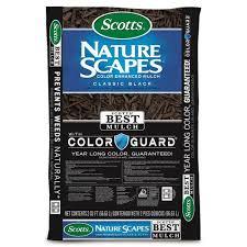Scotts Nature Scapes <b>Color</b> Enhanced <b>2</b>-cu ft <b>Classic Black</b> Mulch at ...