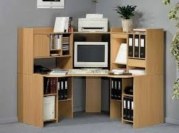 fill in dead space in the home office with ikea corner desk is designed with file rack on both sides so it will make room to be efficient cherry custom home office desk