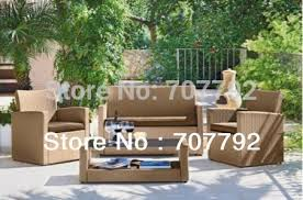 Best Sale Poly Ratan <b>4 Piece Garden</b> Furniture Sofa Set|garden ...