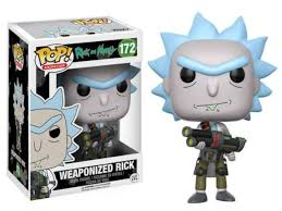 Купить <b>Фигурка Funko POP</b>! <b>Vinyl</b>: Rick & Morty: Weaponized Rick ...