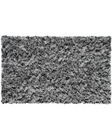 hand shag rug shaggy raggy grey cotton jersey area rug 28 x 4 california shag black 4 ft