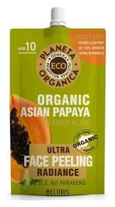 <b>Пилинг для сияния кожи</b> лица Organic asian papaya ECO ...