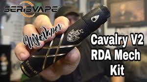 <b>SerisVape Cavalry v2</b> RDA & Mechanical Mod Review, Build, & Wick