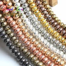 Wholesale 100pcs 6mm <b>Metal</b> Plated Crystal Rhinestone Ball ...
