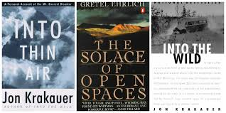 the th voice it takes a voices to tell a single story john krakauer gretel ehrlich into thin air into the wild the solace
