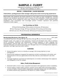 resume for store manager  seangarrette coresume
