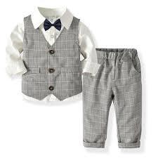 <b>2019 Spring</b> Blazers Suit for Boys <b>Kids</b> Formal Prince School ...