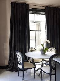 black and white dining table set: white and black dining rooms black and white dining room chairs black silk curtains marble dining table