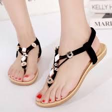 LAKESHI <b>Women</b> sandals <b>2019</b> new Flats Sandals <b>Women Summer</b> ...