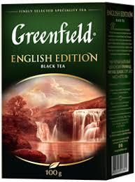 <b>Чай чёрный GREENFIELD English</b> edition байховый цейлонский к ...