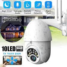 <b>1080P HD PTZ</b> IP Camera Wifi Outdoor <b>Speed Dome</b> Wireless Wifi ...