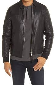 <b>Men's Leather</b> (Genuine) <b>Coats</b> & <b>Jackets</b> | Nordstrom